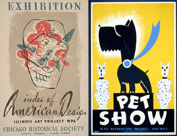 Free artwork spotlight: WPA Poster Archive at Library of Congress
