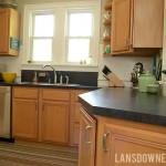 DIY Kitchen makeover reveal