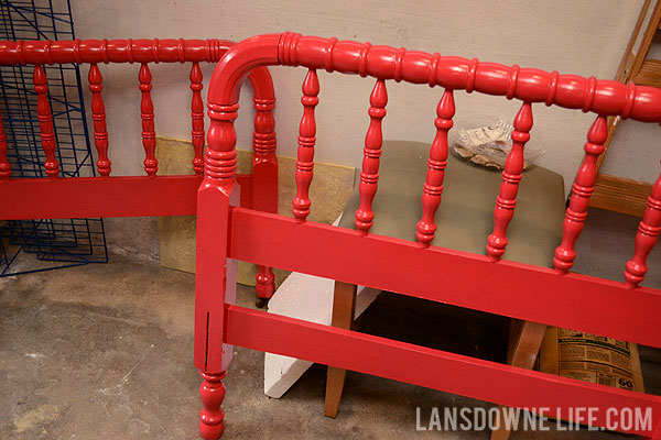 refinishing an antique jenny lind bed - Jenny Lind Bed