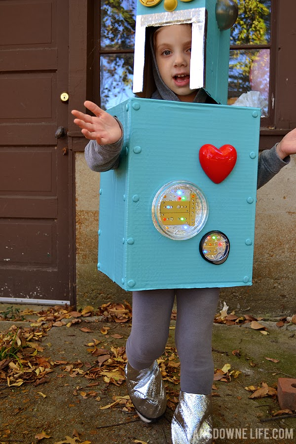 How To Make A Homemade Robot Costume For Kids
