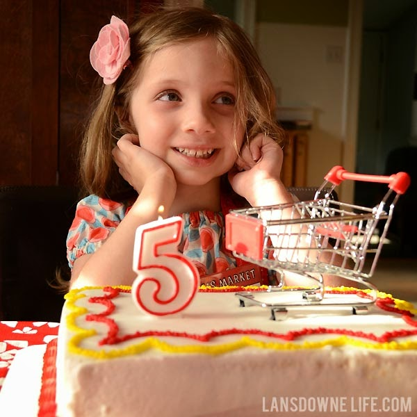A Trip To Elise's Market: Grocery Store Birthday Party
