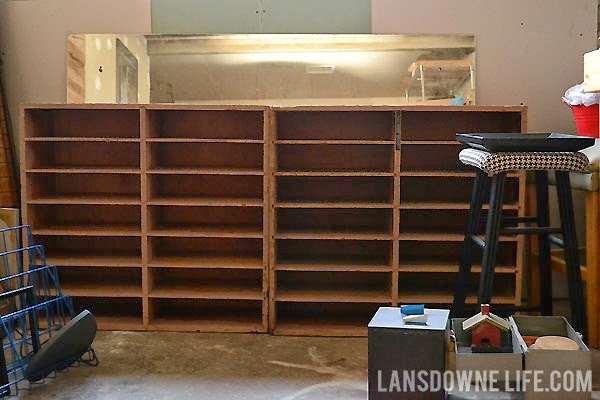 Shelving units for storing drying painting