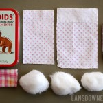 DIY Craft kits for kids: Upcycled Altoids tin doll bed