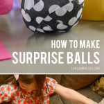 How to make surprise ball party favors