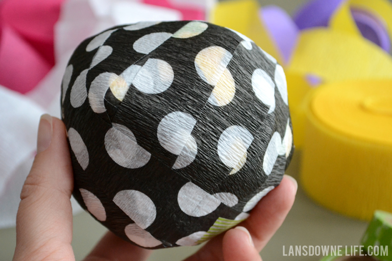 How to make a surprise ball