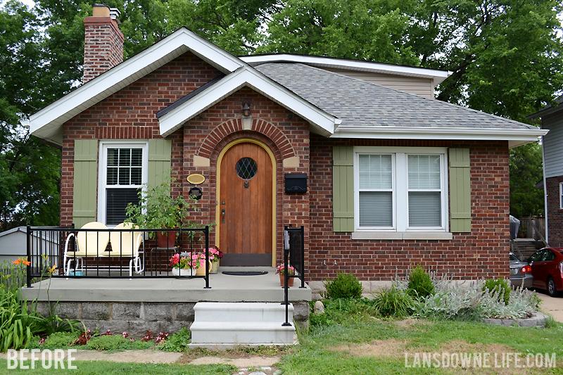 Porch archives lansdowne life for Concrete front porch paint ideas
