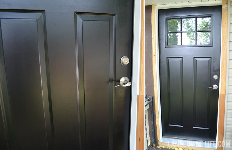 Painting My Back Door Black