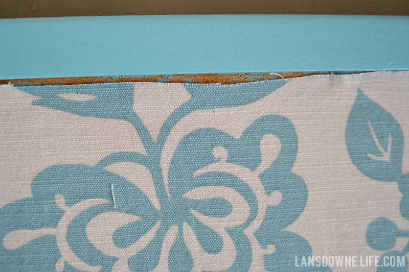 Fabric to cover bulletin board