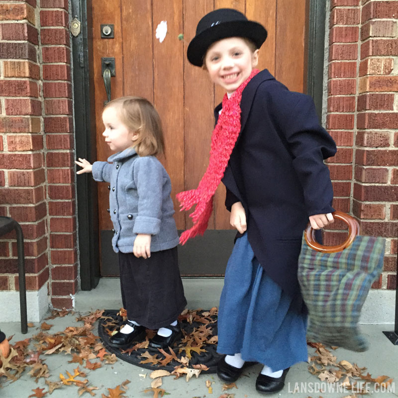 DIY Mary Poppins costumes