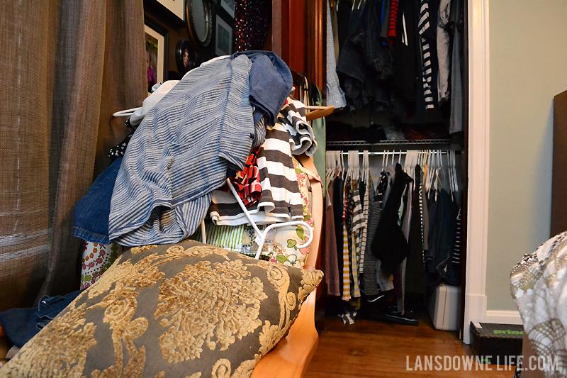 Decluttering the bedroom