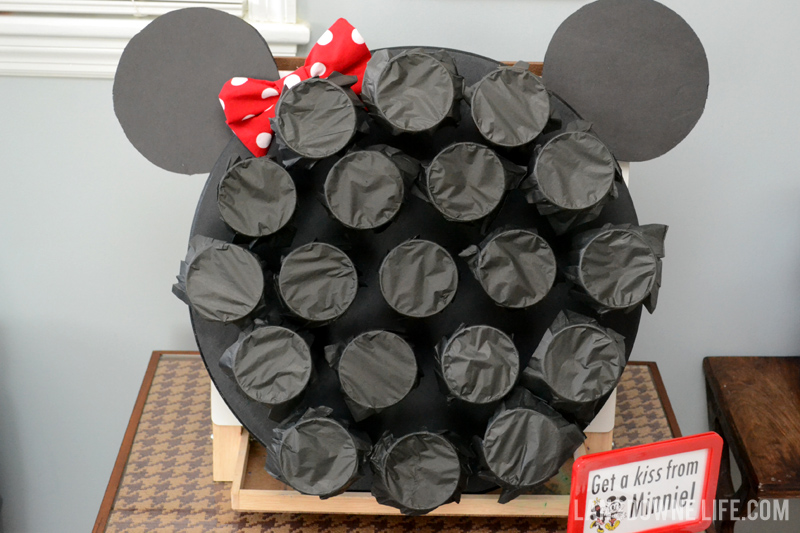 Minnie Mouse Birthday Party Punch Board