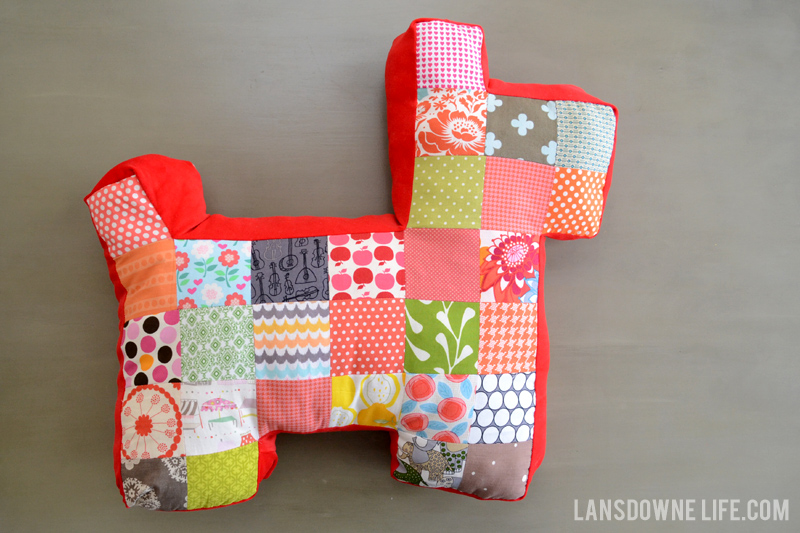 patchwork-stuffed-dog