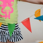 DIY Craft kits for kids: Felt pennant banner